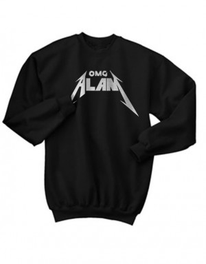 Alan Poulos OMG Metal Crewneck Sweatshirt