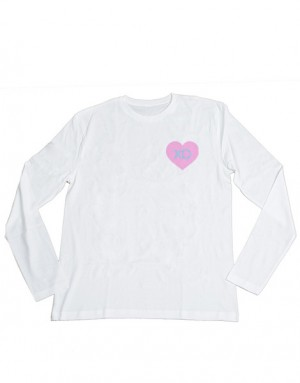 Larray XO Heart Long Sleeve Tee
