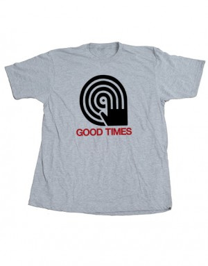 Good Times Record Hand Unisex Tee